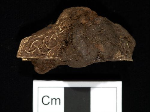 Early 'pre conservation' pommel cap